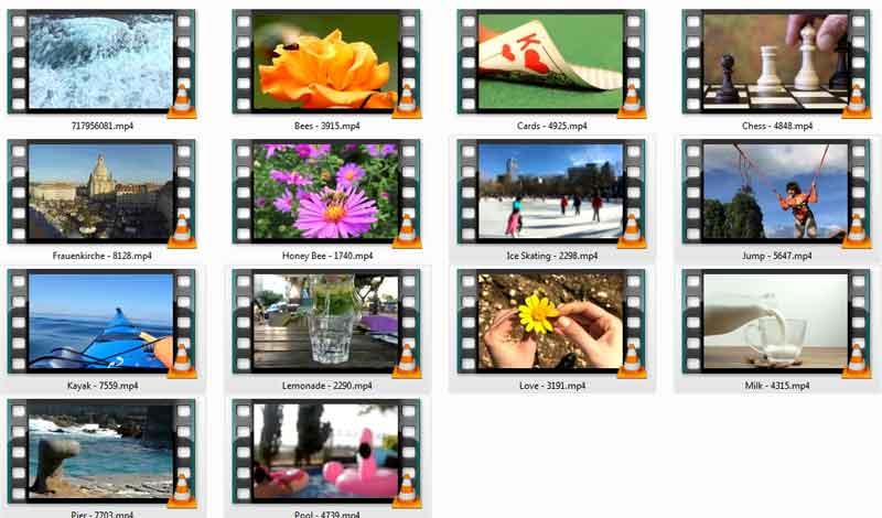 slow motion 4k videos