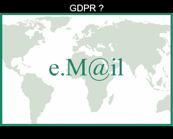 The First Day of GDPR