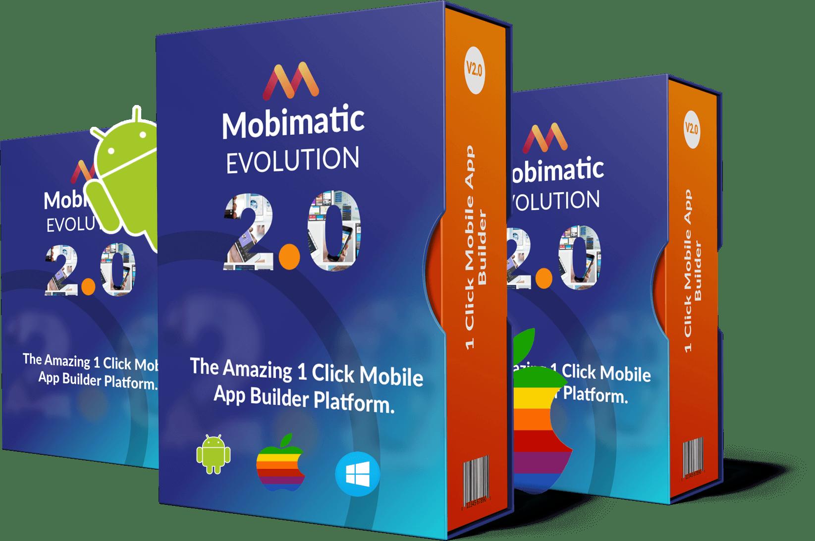 Visual Mobile App Design Platform - Make Mobile Apps in 3 Easy Steps!