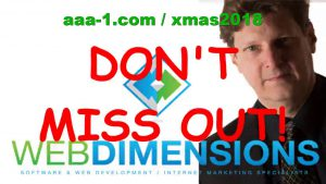 Only 2 Days Left for MY AWESOME SALE! Save Big on Web Dimensions, Inc. Software & Tools