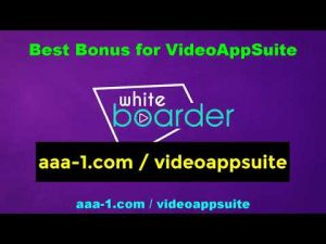 Check Out VideoApp Suite My Best Bonus
