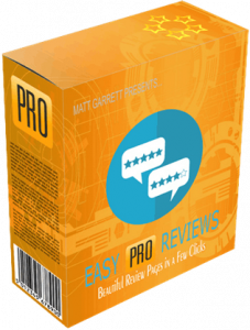 "Hugh's Take on ""Easy Pro Reviews"" Affiliate Marketing Software"