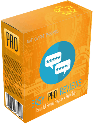 Easy Pro Reviews software