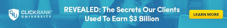Clickbank University Millionaires Training
