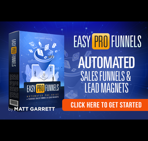 Easy Pro Funnels Automates the Sales Process